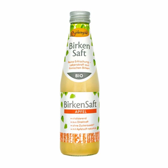 Lebensmittel & Getränke Großhandel: Bio Birkensaft Apfel 250 ml - Birkengold