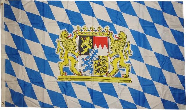 Flagge  Bayern Löwe  250 x 150 cm