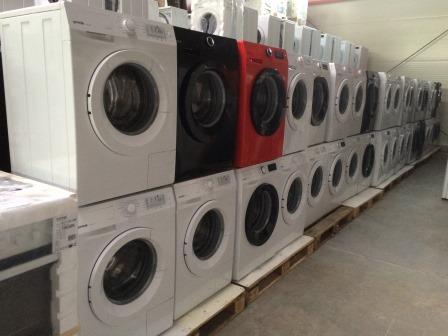 Elektrogeräte A und B Ware für Export