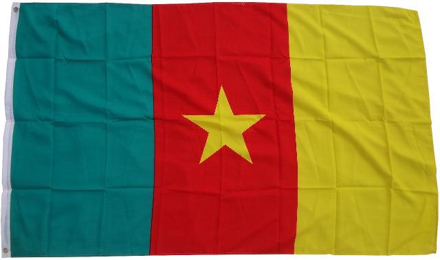 Flagge  Fahne Kamerun  90 x 150 cm
