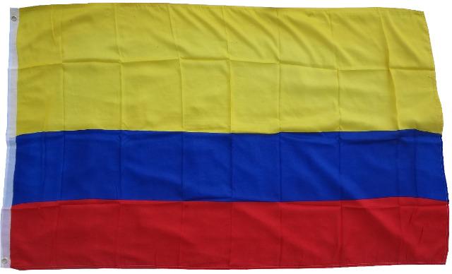 Flagge  Fahne Kolumbien  90 x 150 cm