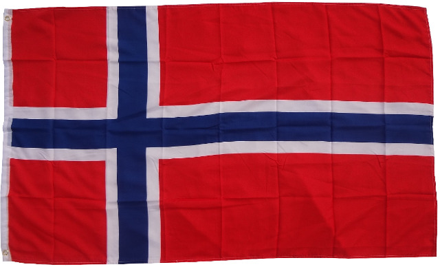 Flagge  Norwegen  90 x 150 cm