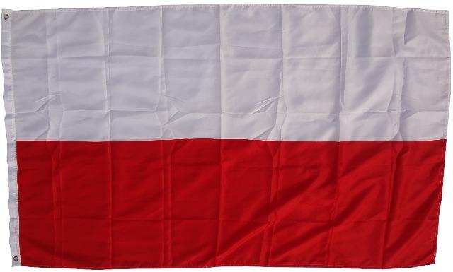 Flagge  Polen  90 x 150 cm