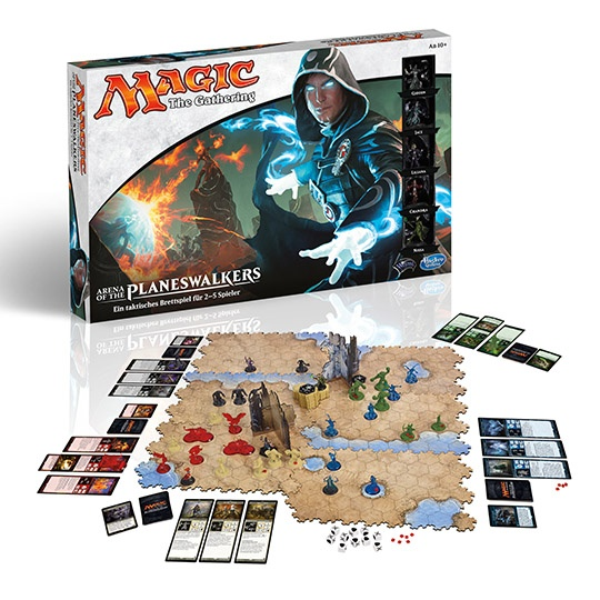 27-50101, Hasbro Spiel Magic The Gathering Arena of the Planeswalkers Taktisches Brettspiel