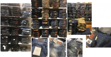 Marken Jeans - Herren - Konkurs