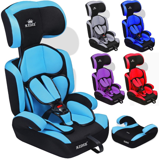 Autokindersitz Autositz Kinderautositz 9-36 kg Gruppe 1+2+3 Kindersitz 5 Farben NEU