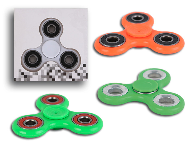 Handspinner Finger Fidget Spinner Einfarbig Spielzeug High Speed Anti-Stress ADHS ADS - 1,79 Euro