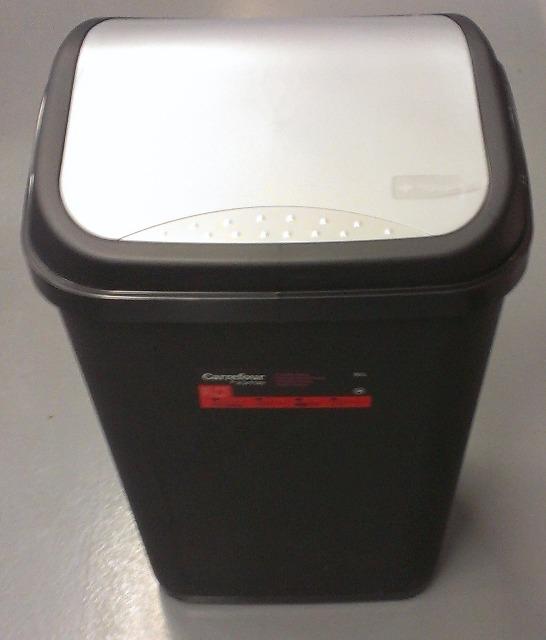 12-143401, OKT Mülleimer 50 Liter mit Schwingdeckel