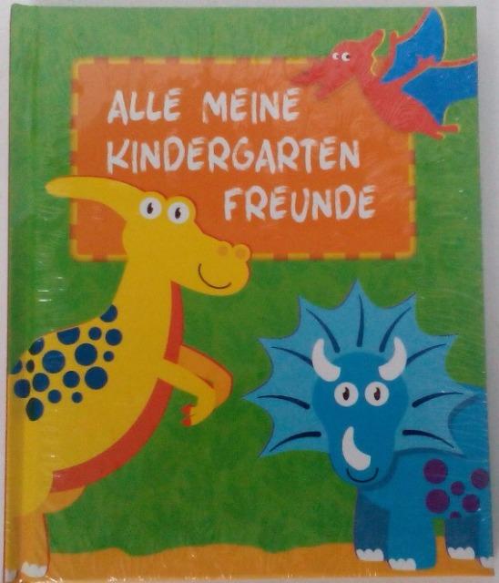 12-23308565, Kinderbuch Meine Kindergartenfreunde Dinosaurier  (Freundebuch)