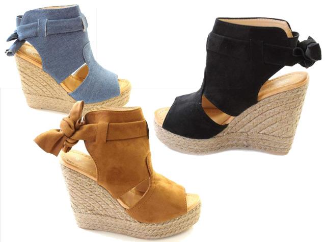 Damen Woman Sandalen Sandaletten Schuhe Sommer  - 14,90 Euro