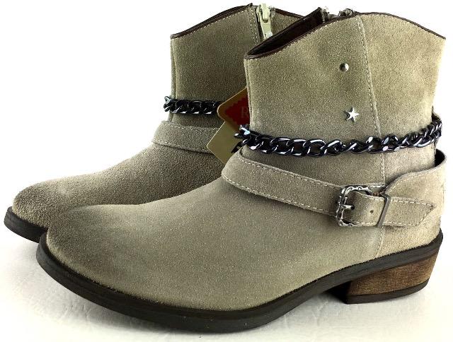 REPLAY KINGSTON BEIGE BOOTS MÄDCHENSTIEFEL Stiefel Original Ware TOP NEW NEU