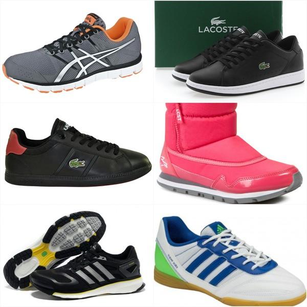 Lacoste Nike Puma Vans Asics Adidas...Einmalige Chance! Exklusiver Mischposten an Markenschuhen