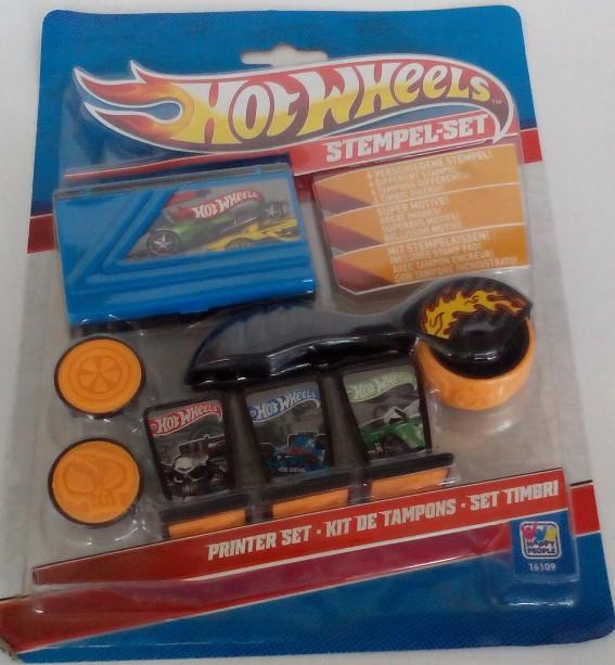 12-16109, Stempelset Hot Wheels