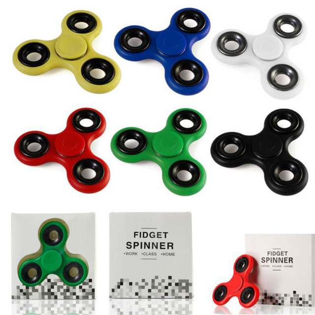 Fidget Spinner Hand Taschen Anti Stress Finger Spinner Kreisel Konzentration Pocket EDC ADHS TRI TOP Toy Spielzeug