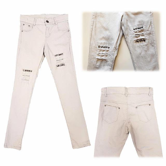 Modische Kinder Mädchen Jeans Hosen für 4-14 J. je 9,25 EUR