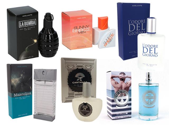 Parfüm Mixposten Eau de Toilette Herren Homme Spray Duft Parfum 80-100 ml - 1,99 Euro