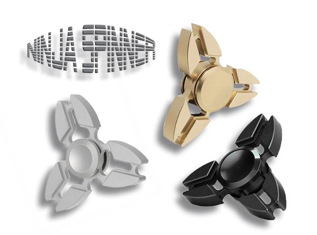 Spinner Fidget Trend Fingerkreisel Metallic Look Spielzeug Toy Anti-Stress Ninja Mix - 3,99 Euro