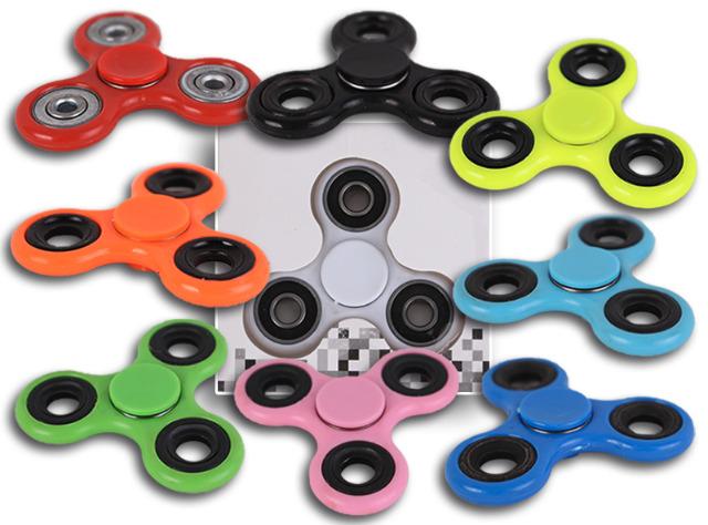 Handspinner Finger Spinner Einfarbig Fidget Spielzeug High Speed Anti-Stress ADHS ADS - 1,00 Euro