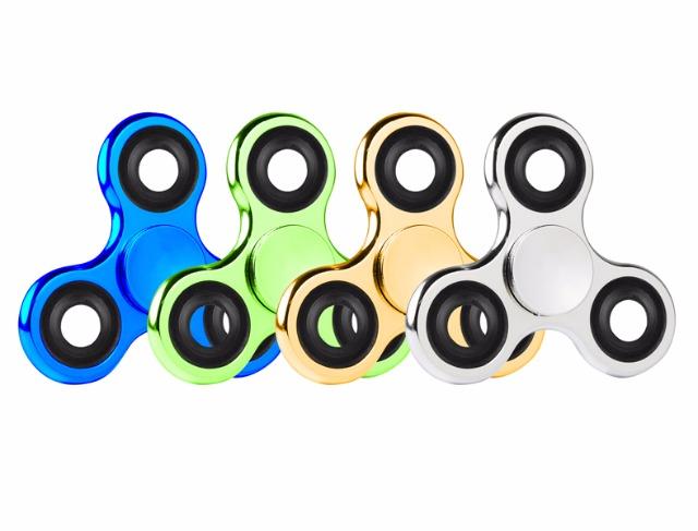 17-62870LF, Hand-Spinner Metallic Fingerkreisel Twister Spinner Hand Spinner