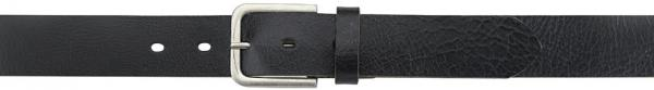 Buffalo-Leather-Belt, black