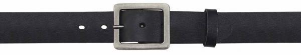 Buffalo-Leather-Belt, black