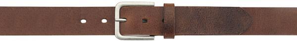 Buffalo-Leather-Belt, light-brown