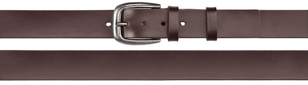 Coated Split Leather Belt, extra large, brown