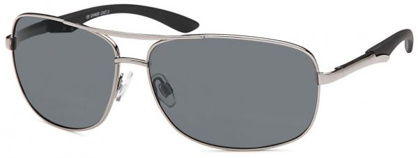 polarized  sunglasses (smoke lens) as set with cleaner and softbox