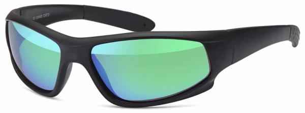 sport sunglasses polarized, assorted in 3 colors