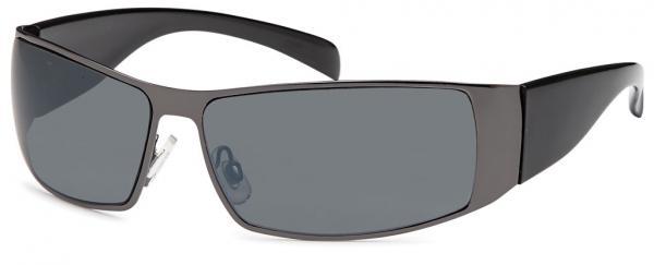 sunglasses, black-smoke with Polycarbonat  lenses