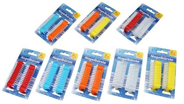 12-1102660, Nagelbürste, Handwaschbürste 2er Pack