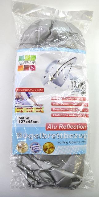 12-71096, Bügelbrettbezug  ALU Reflection 127x45cm
