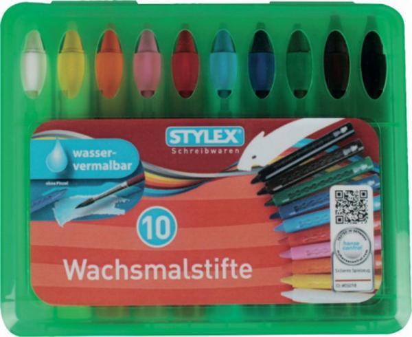Stylex Wachsmalstifte 10er, 1 Set