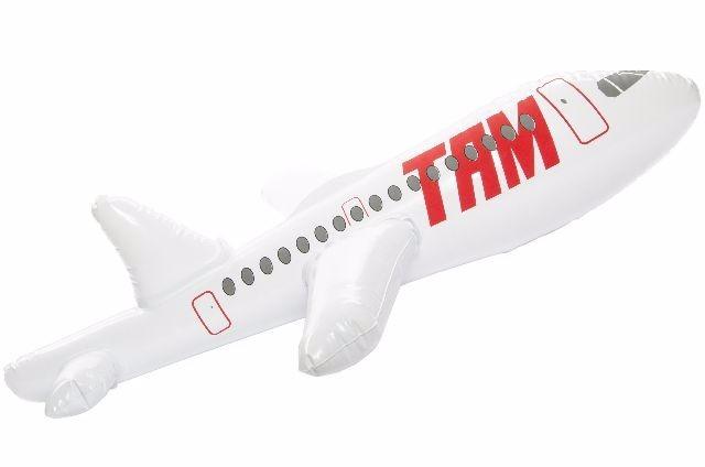 21-4707, Aufblas Flugzeug 60 x 47 cm, aufblasbarer Flugzeug, aufblasbares