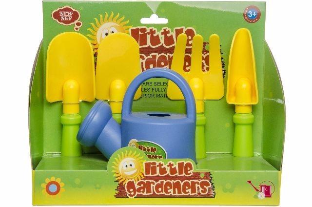 21-4646, Strandspielzeug Set Sandkasten Spielzeug mit Schaufeln, Gieskanne,