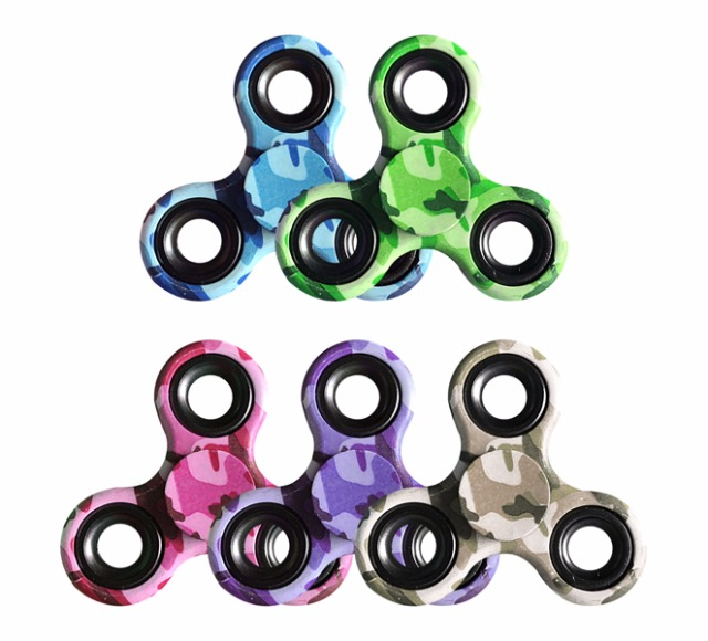 17-62884LF, Hand Spinner Camouflage, Twister Fingerkreisel Handspinner , Antistress, Entspannung, usw