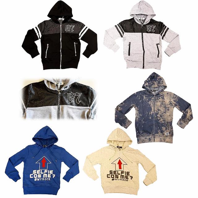 Kinder Oberteile Sweater Hoody Zipper Gr. 4-14 J. je 5,95 EUR