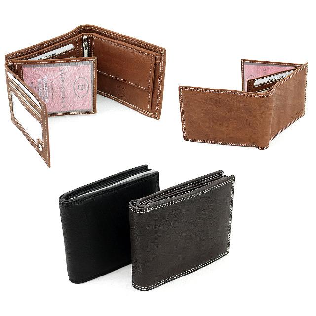 Echt Leder Geldbörsen Portemonnaies Brieftaschen je 5,95 EUR