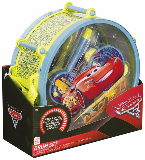 Drum Set Disney Cars 3
