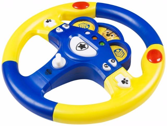 Spiel Lenkrad für Kinder Paw Patrol Chase mit Licht u. Sound
