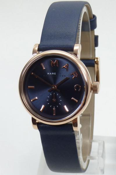 Marc by Marc Jacobs Uhr Damenuhr MBM1331 Baker XS rosegoldfarben Leder