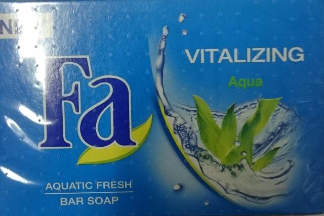 12-4089140, Fa Seife 100g  Vitalizing Aqua