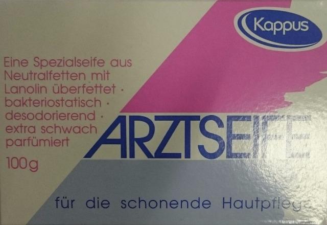 12-63223, Seife Kappus Arztseife 100g in Faltschachtel