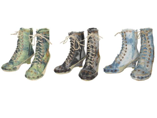Espadrilles Stiefel auf Keilabsatz STIEFEL 36-41