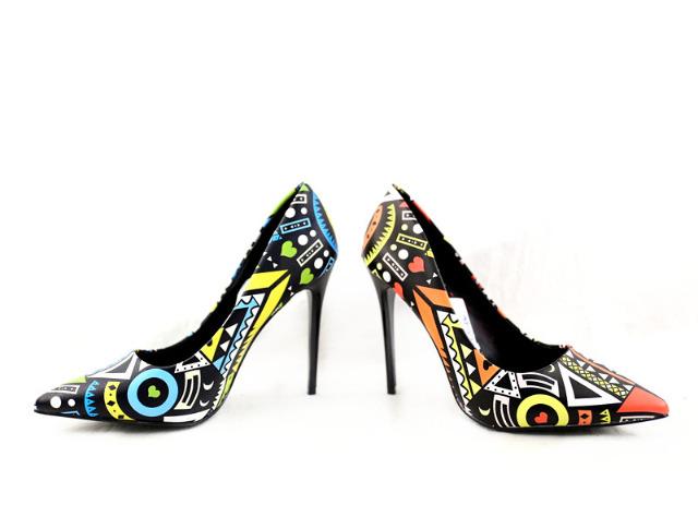 Damen Pumps Schuhe Shoes Absatz Schuhe Damenschuhe Sommer - 14,49 Euro