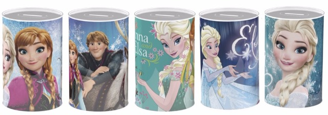 Spardose 5-fach sortiert Disney Frozen