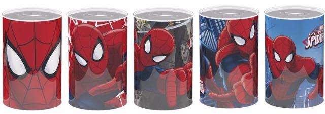 Spardose 5-fach sortiert Marvel Spiderman