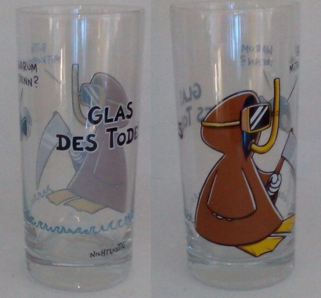 12-42069, Trinkglas Glas des Todes  Depesche  statt  4,95