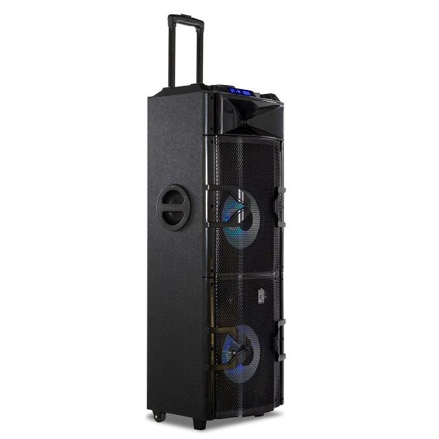 GoClever Sound Club Hero mobile Soundanlage DJ Set LED Lautsprecher