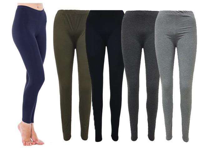 Damen Leggings Hose Damenleggings Leggins Mix Farben nur 3,90 Euro